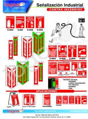 Señales Preventivas Incendios