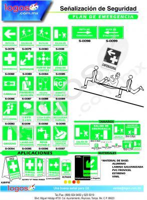 Señales de Plan de Emergencia